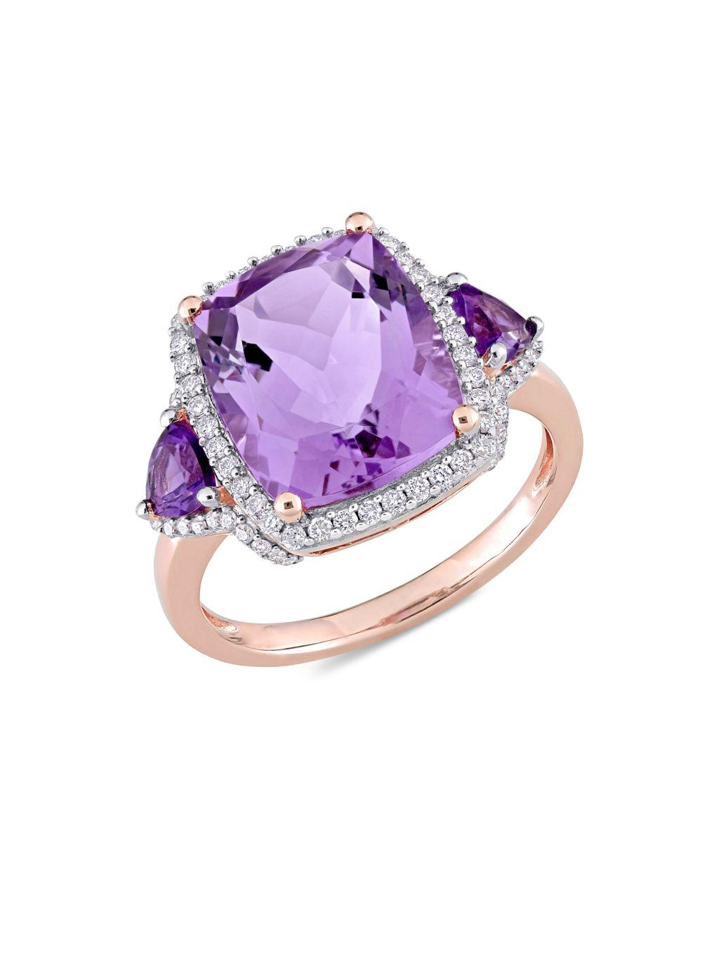 Sonatina 14K Rose Gold & Multi-Stone Ring