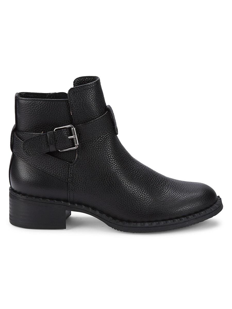 Women's Leighton Moto Leather Boots