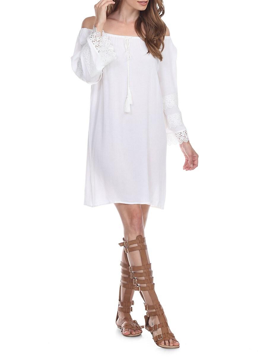 Women's Off-The-Shoulder Beach Dress