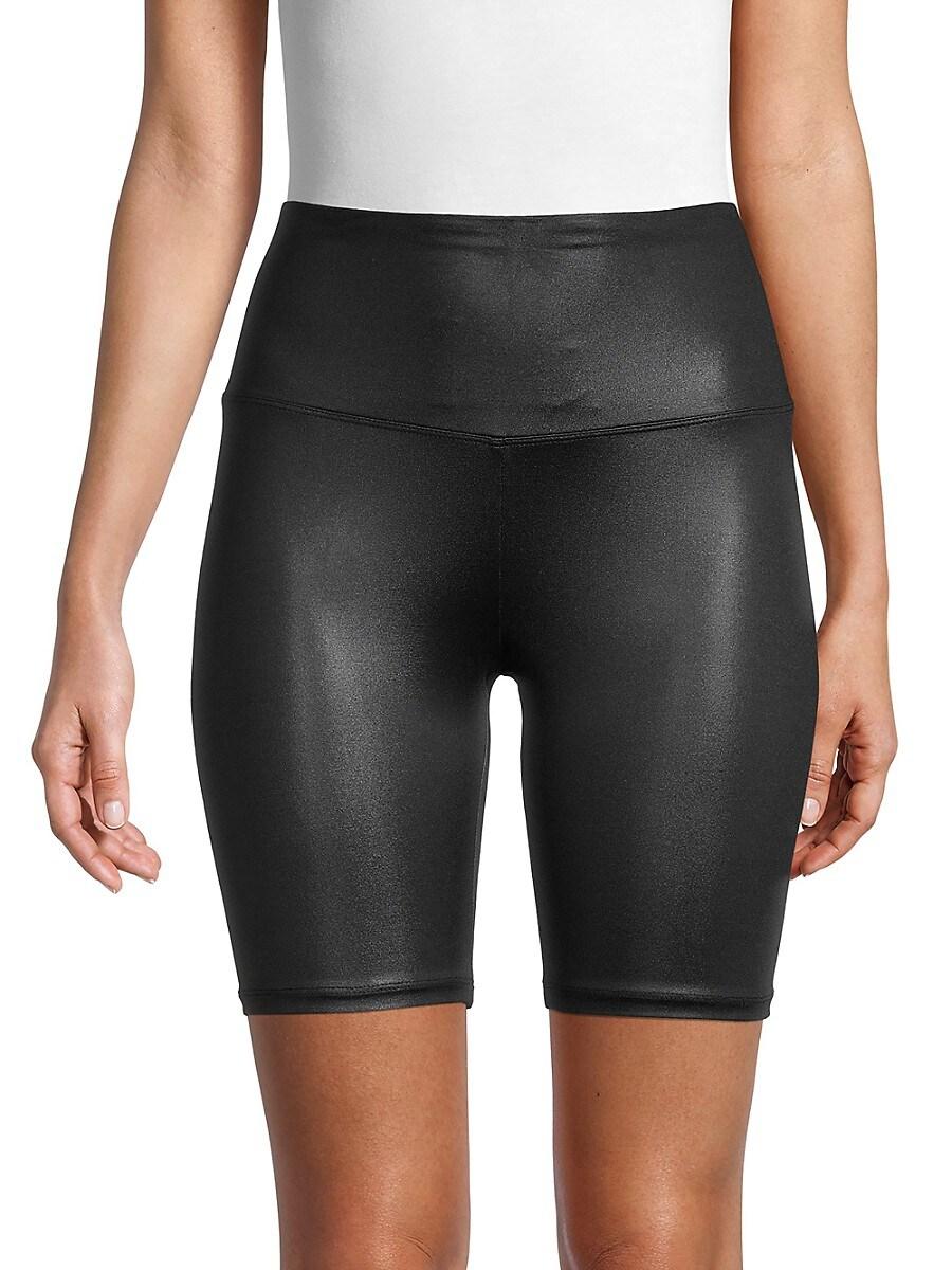 Women's High-Waist Bike Shorts