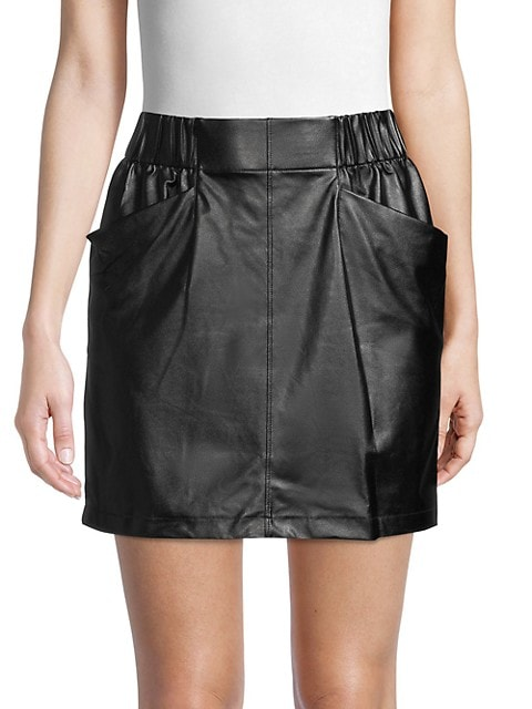 David Lerner Front-Pocket Skirt