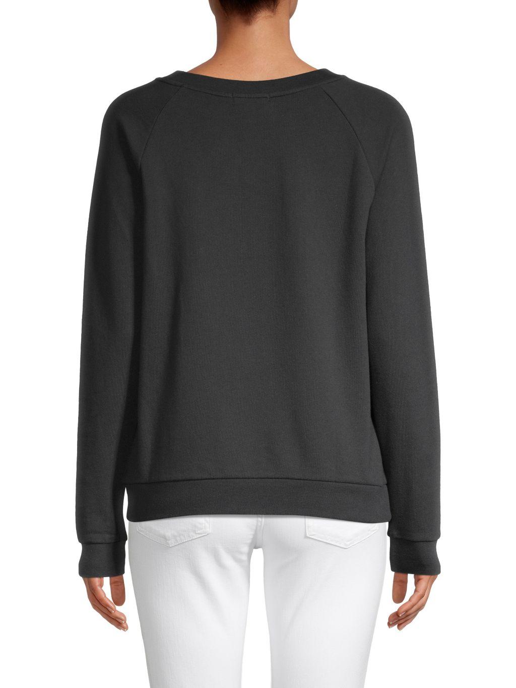 SOUTH PARADE Raglan-Sleeve Sweatshirt