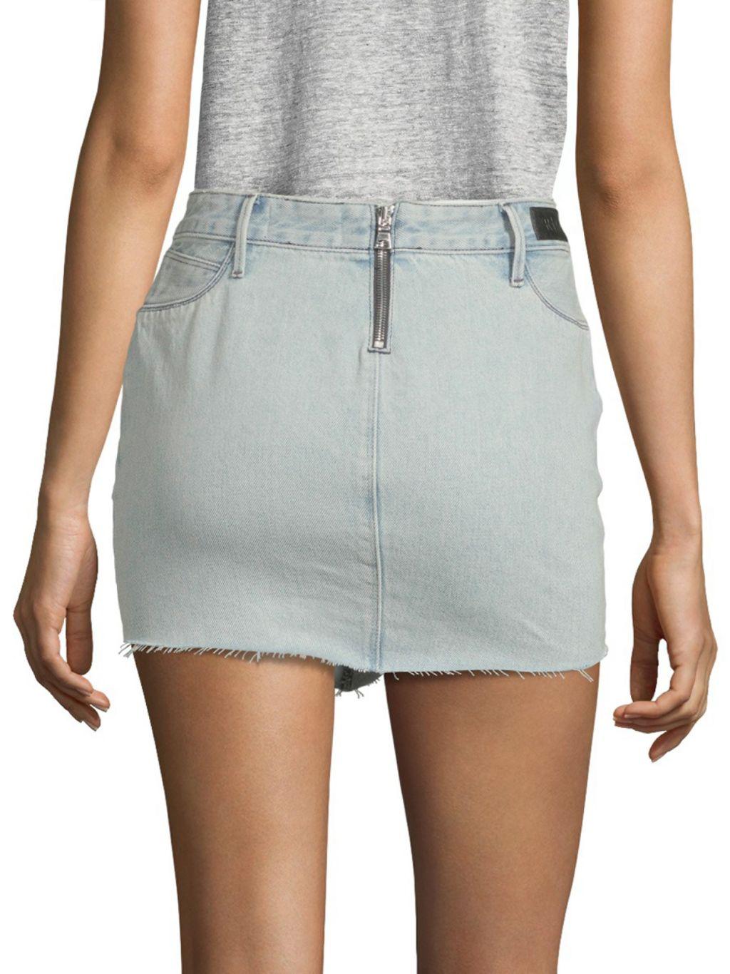 RtA Simone Denim Mini Skirt