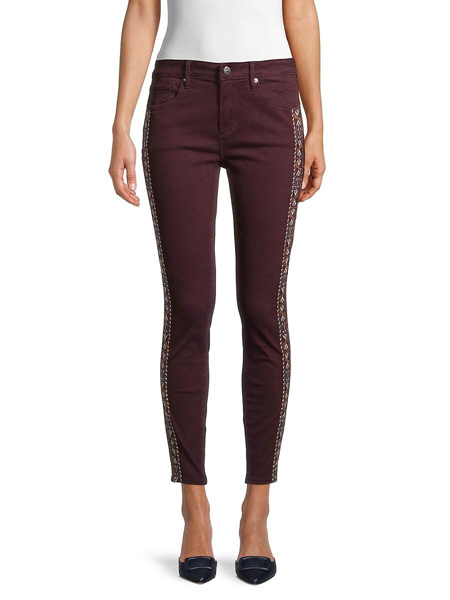 Women's Jackie Embroidery Skinny Jeans