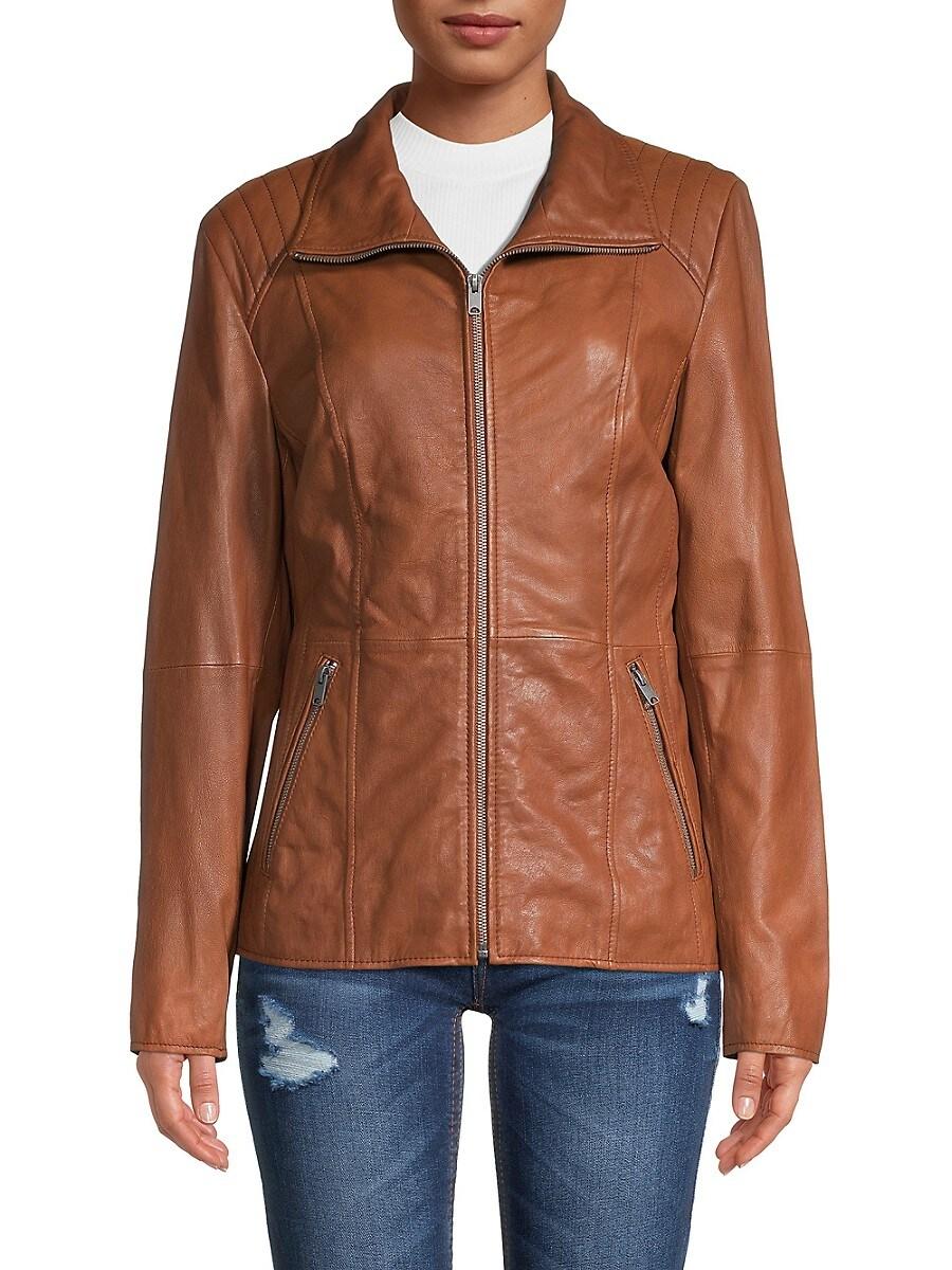 Women's Fabian Leather Jacket