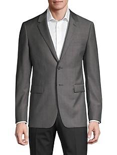 띠어리 Theory Chambers Wool Suit Jacket,GREY
