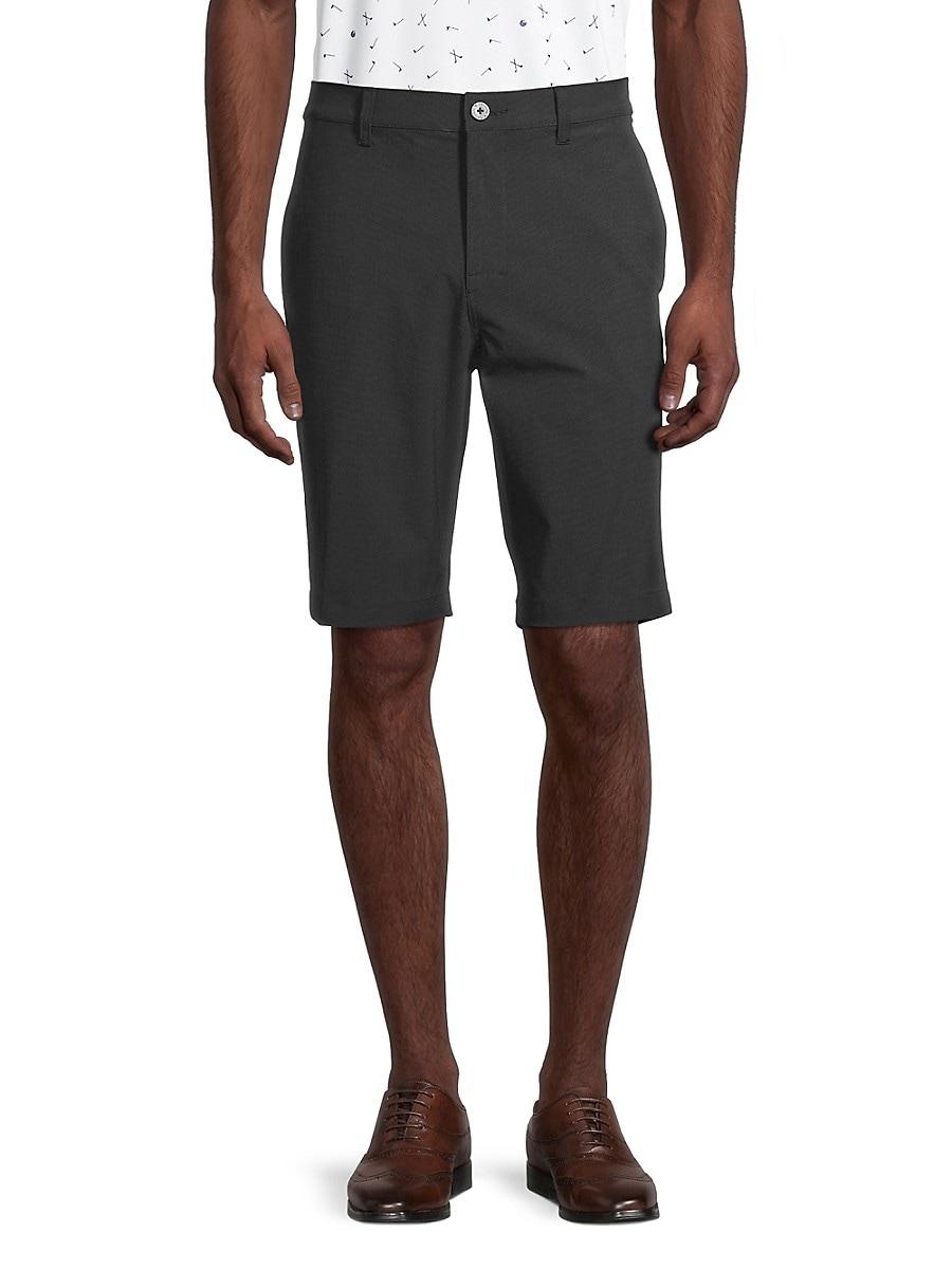 Men's Cotton-Blend Shorts
