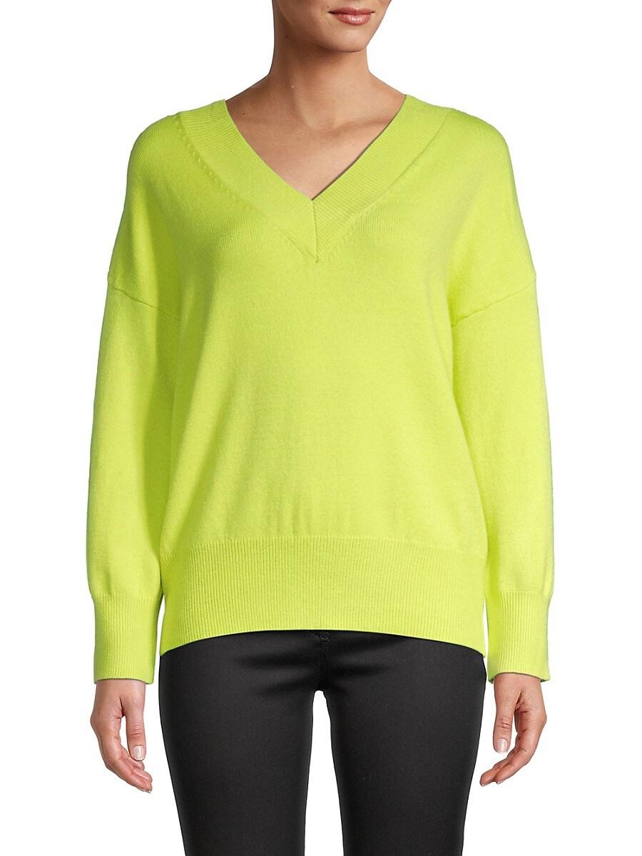 Women's Dropped-Shoulder Sweater