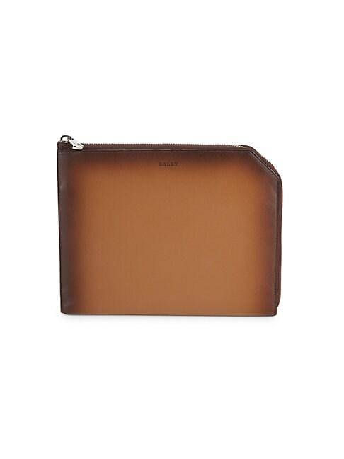 Bally Savit Leather Wallet In Cowboy