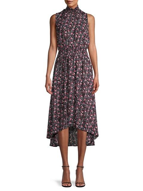 Nanette Lepore Floral Smocked Blouson Dress
