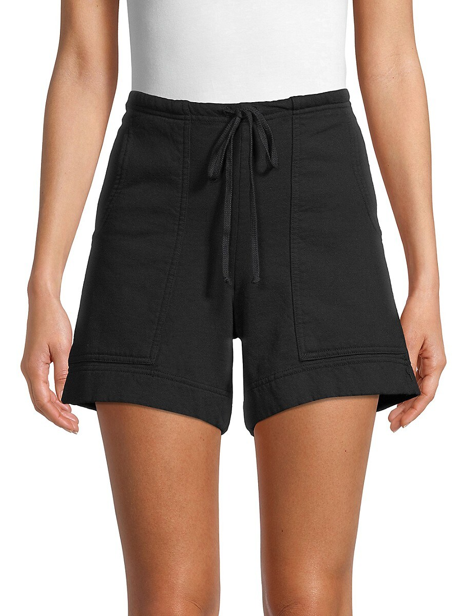 Women's Cotton Drawstring Shorts
