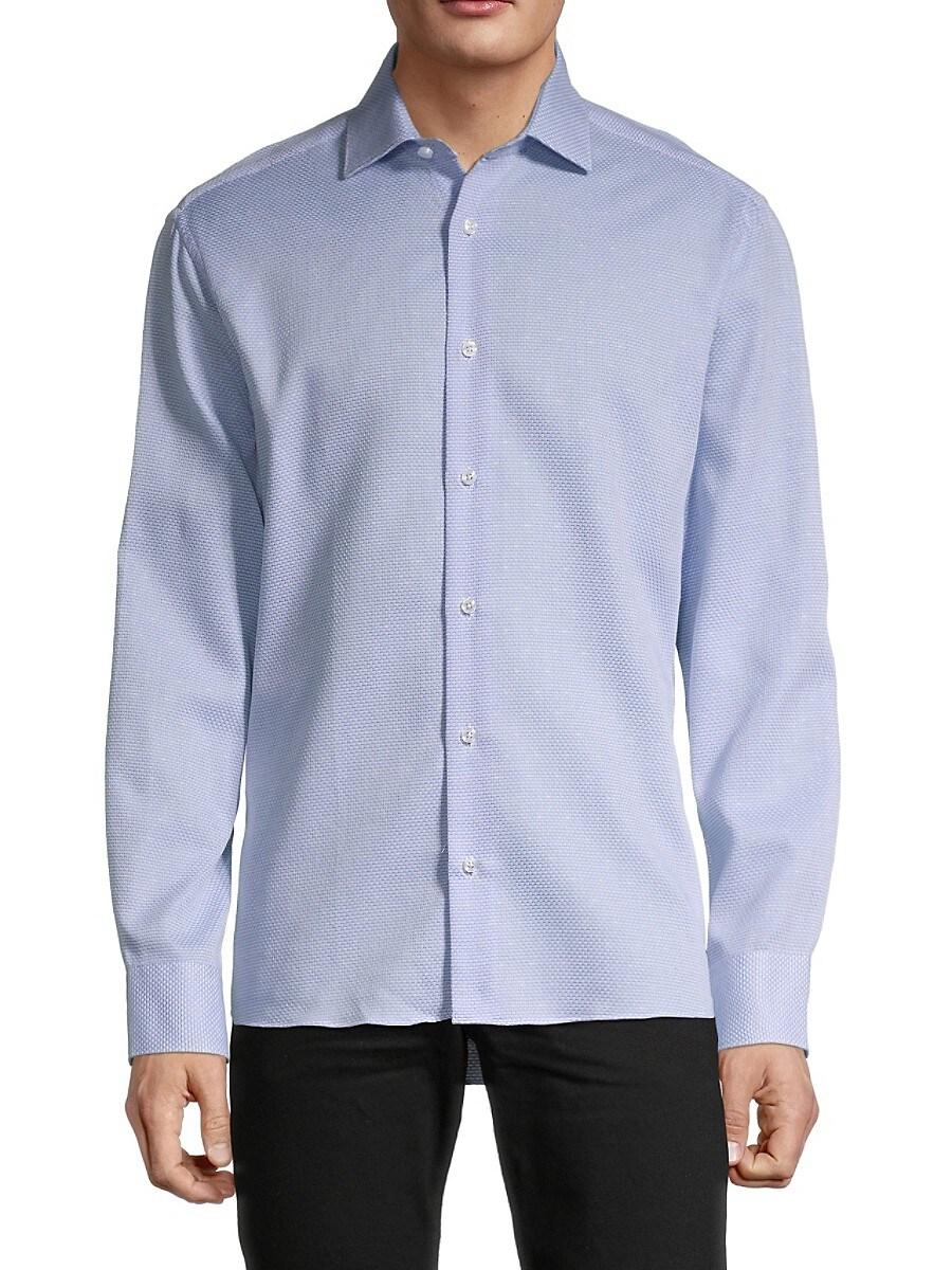 Men's Dobby Textured Shirt