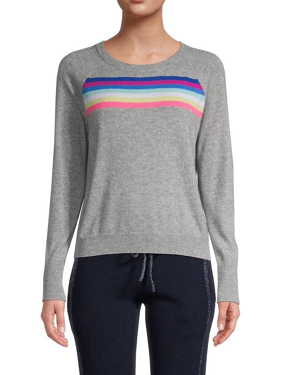 Women's Long-Sleeve Cashmere Sweatshirt