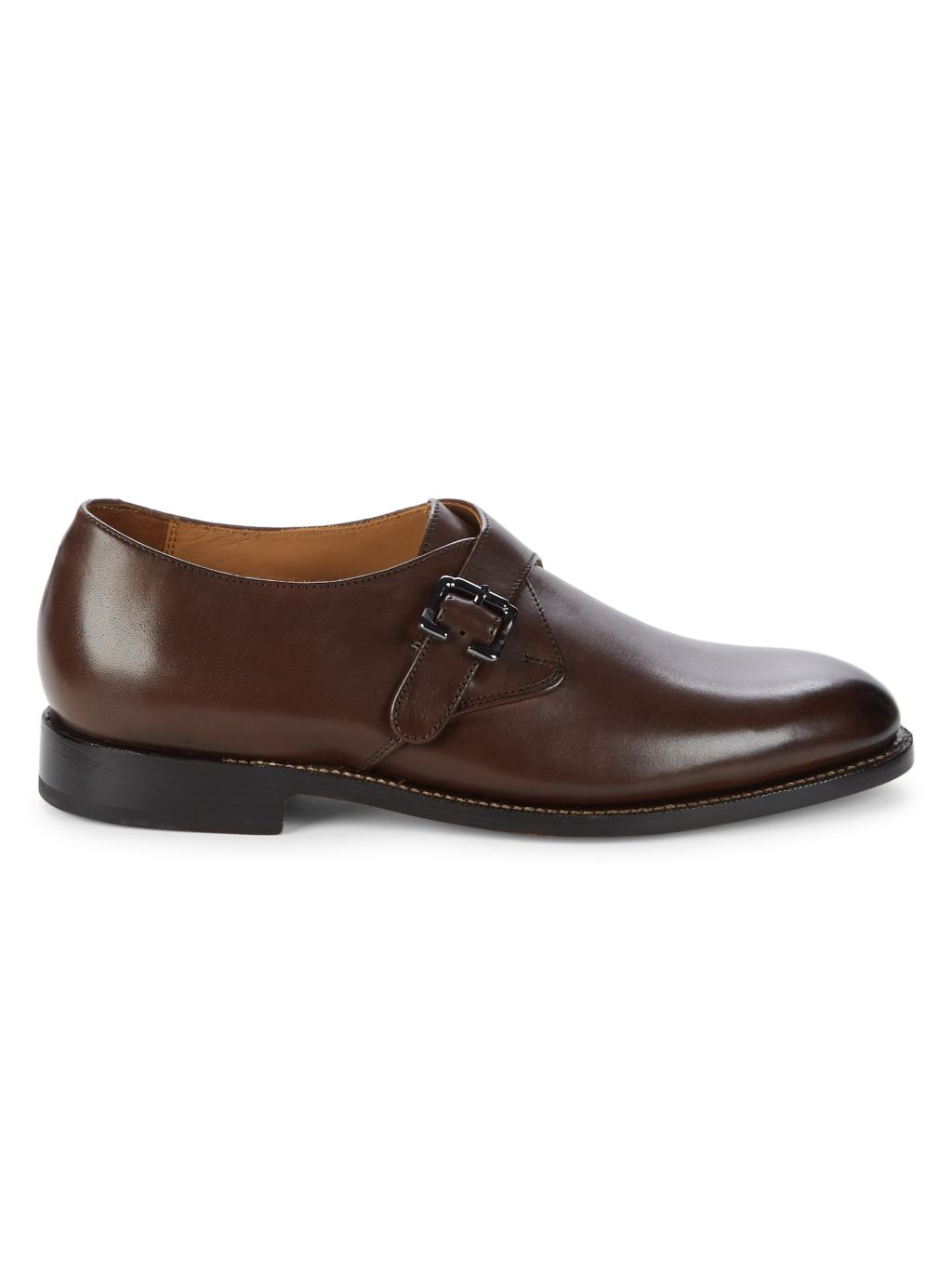 Nettleton Leather Front Buckle Oxfords