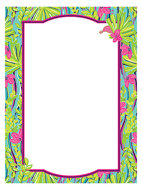 Lilly Pulitzer Nice To See You Card Set