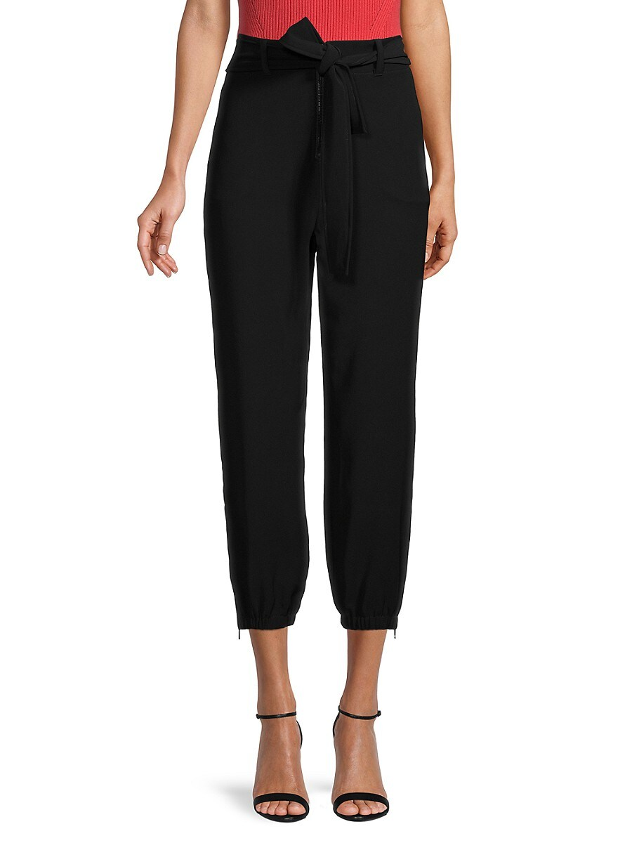 Women's Adrian Belted Cropped Pants