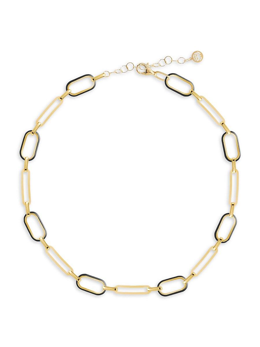 Women's Celebration 14K Gold Vermeil Box-Link Choker Necklace