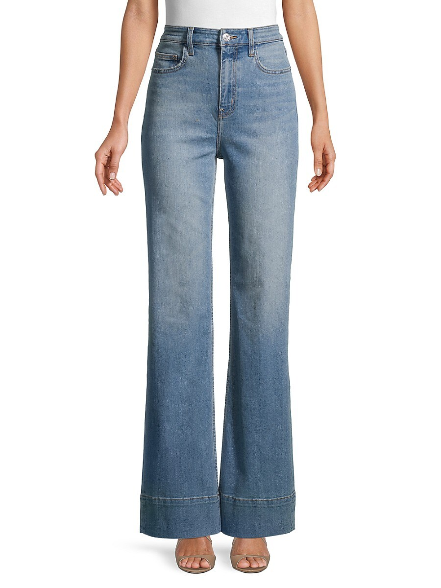 Current/Elliott Women's High-Rise Maritime Fit Jeans