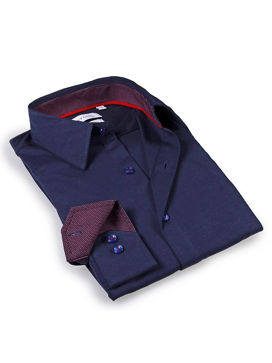 Men's Tailored-Fit Dress Shirt