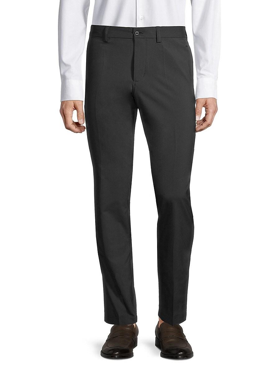 Men's Flat-Front Pants