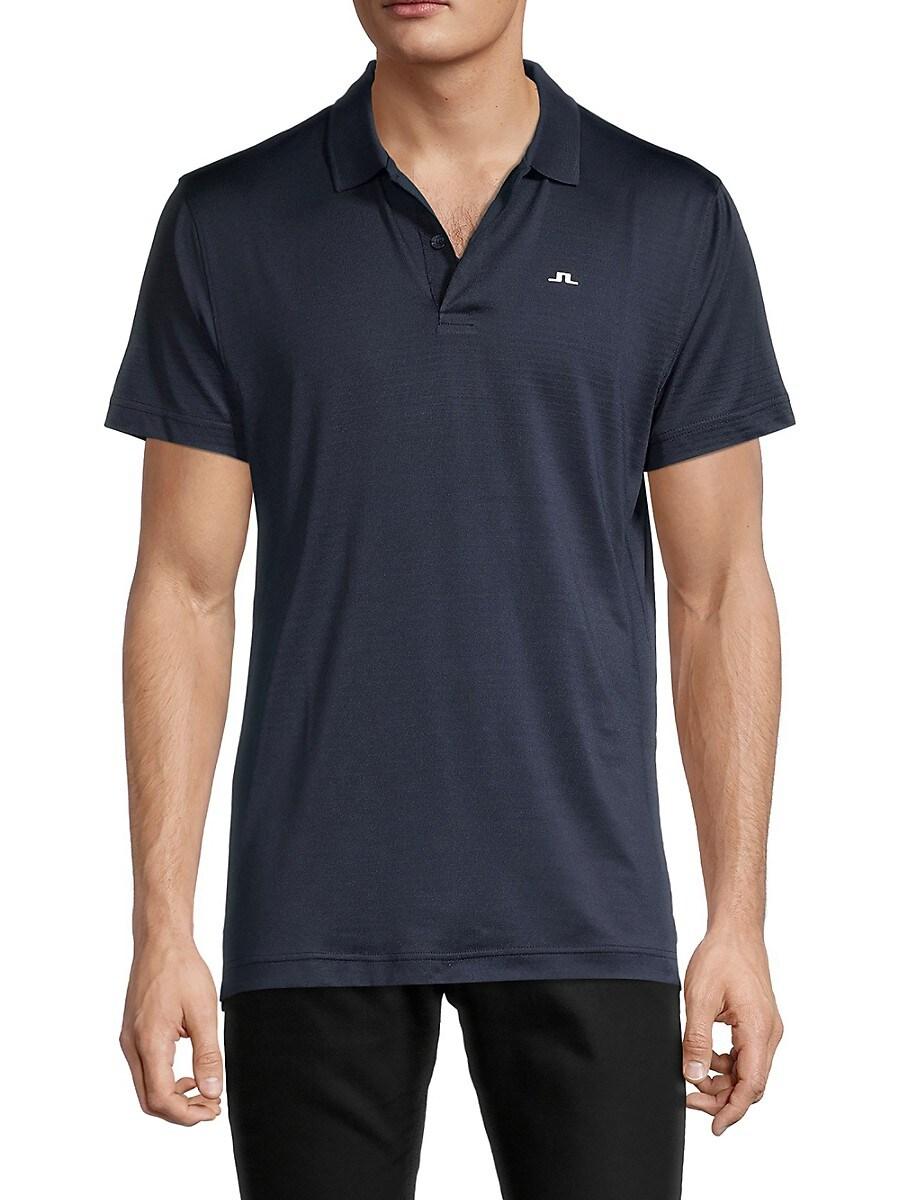 J. Lindeberg Men's Short-Sleeve Polo