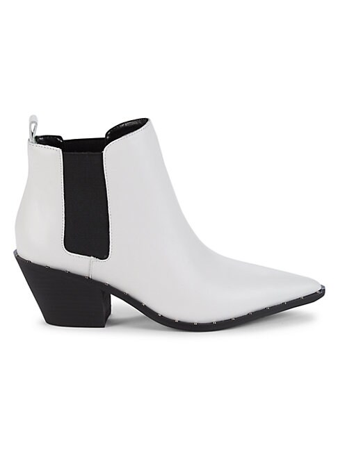 Charles By Charles David LEATHER CHELSEA BOOTS