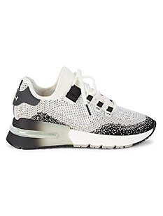 아쉬 스니커즈 ASH Krush Degrade Low-Top Sneakers,LIGHT GREY WHITE BLACK