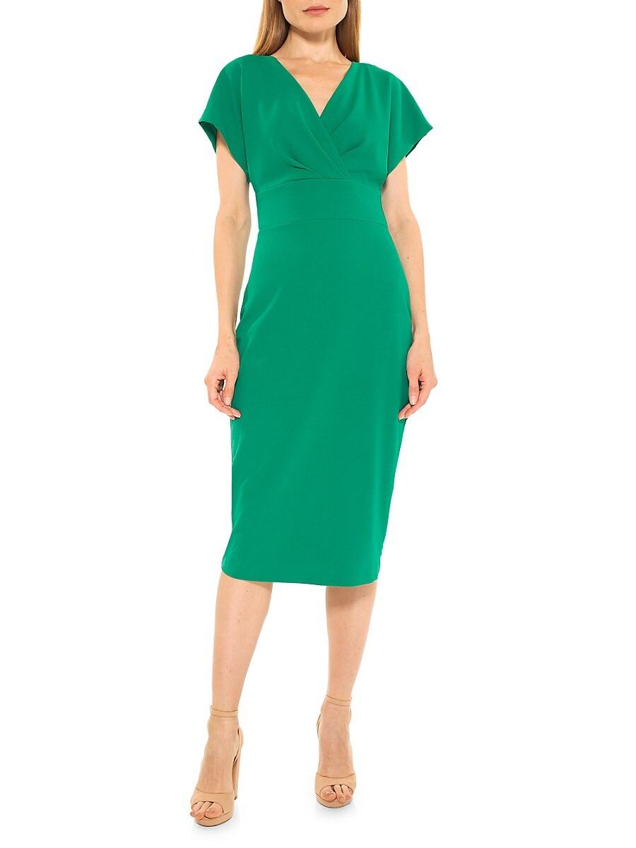 Women's Naomi Draped Sheath Dress