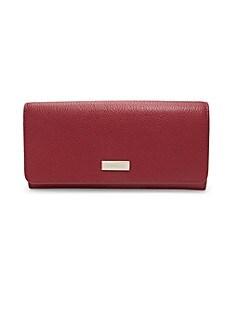 훌라 Furla Ritzy Leather Bi-Fold Wallet,CILIEGIA