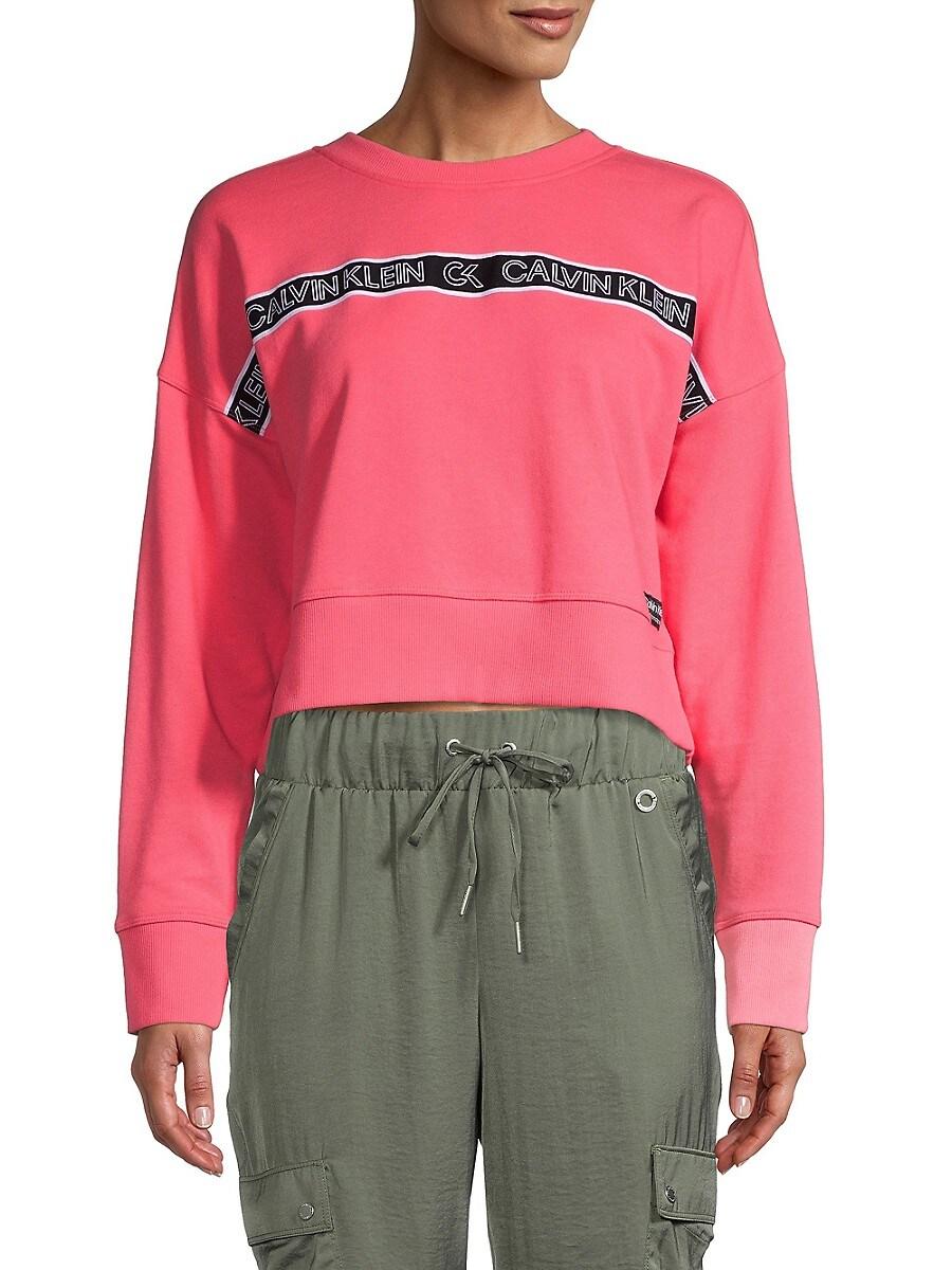 Women's Logo Cotton-Blend Sweatshirt