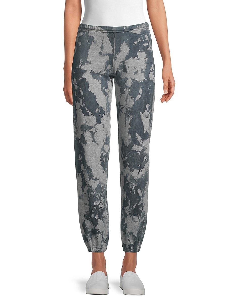 Women's Printed Cotton-Blend Pants