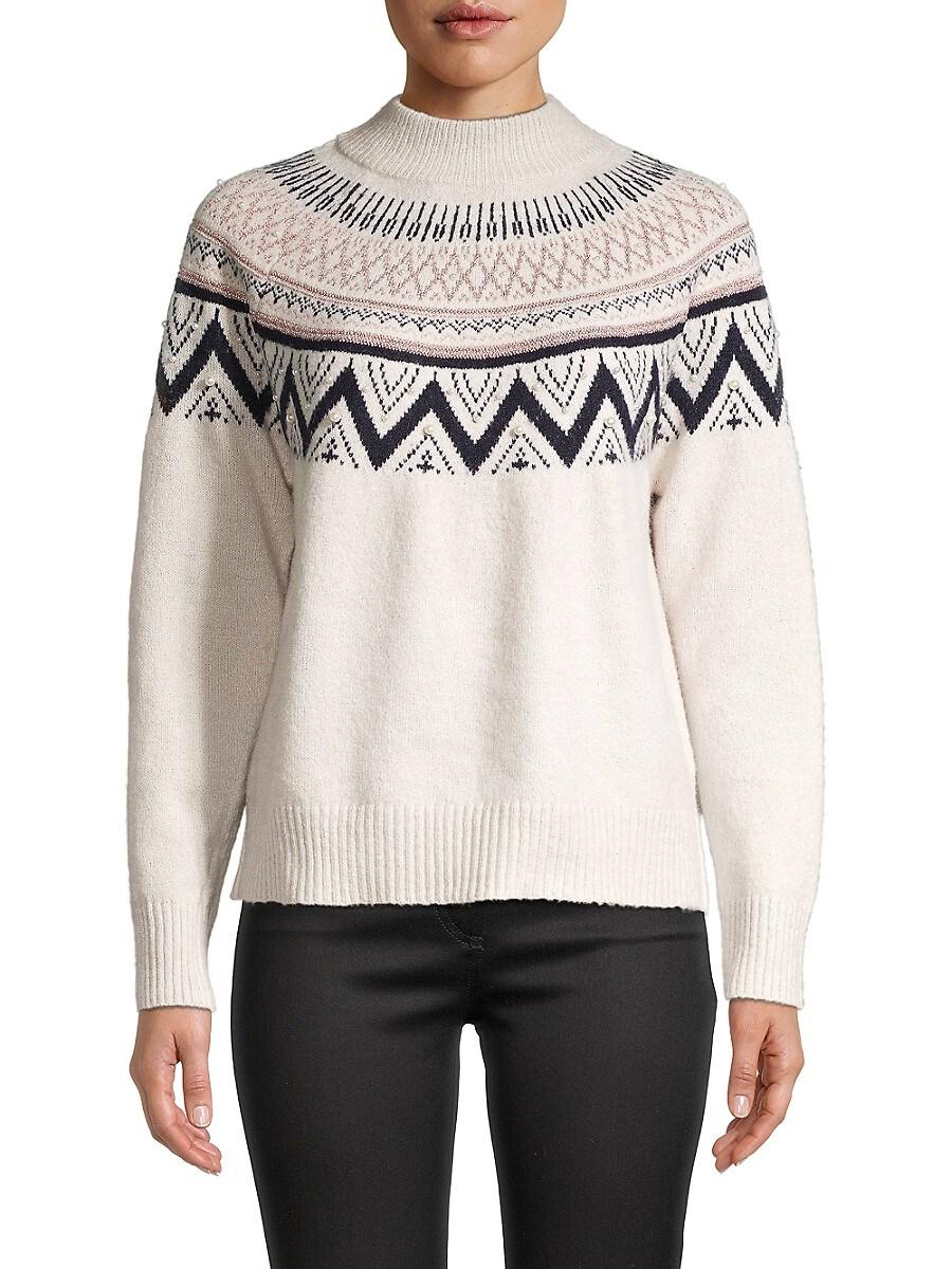 Women's High Neck Sweater