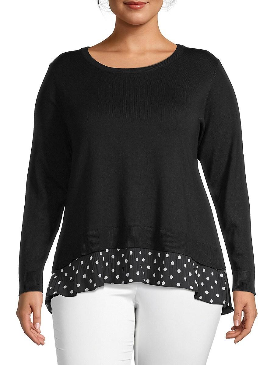 Women's Polka Dots Sweater
