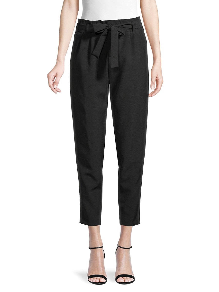 Women's Paperbag Ankle Pants