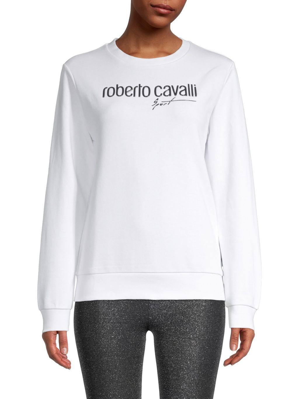 Roberto cavalli SPORT Logo Sweatshirt