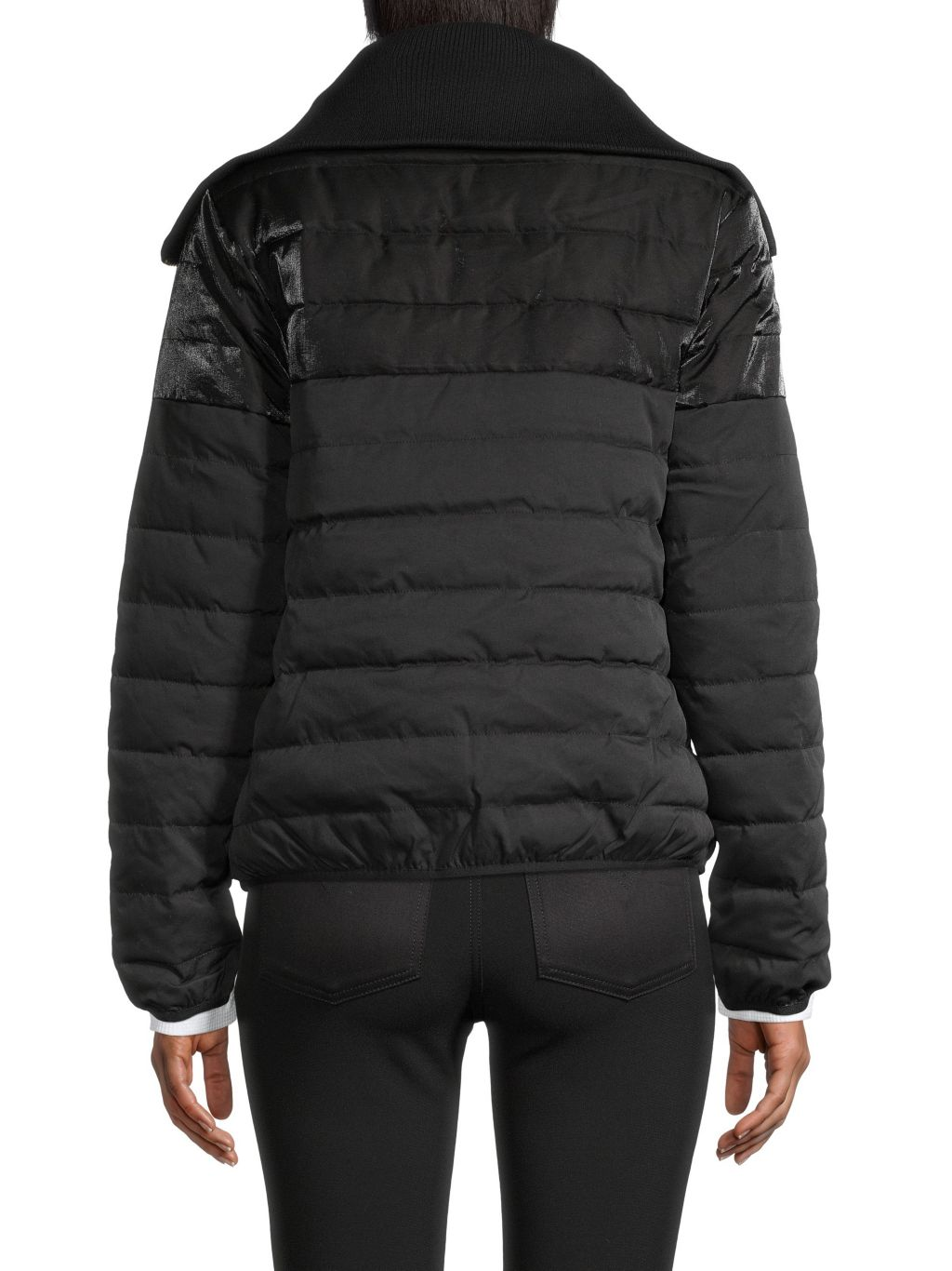 Roberto cavalli SPORT Channel-Quilted Puff Jacket