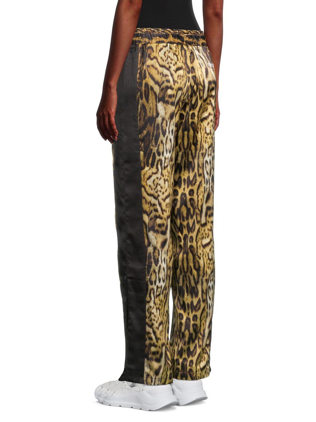 Roberto cavalli SPORT Leopard-Print Track Pants