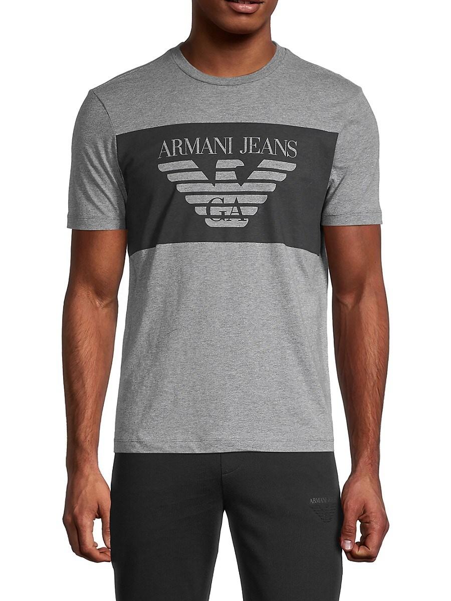 Men's Heathered Logo Graphic T-Shirt