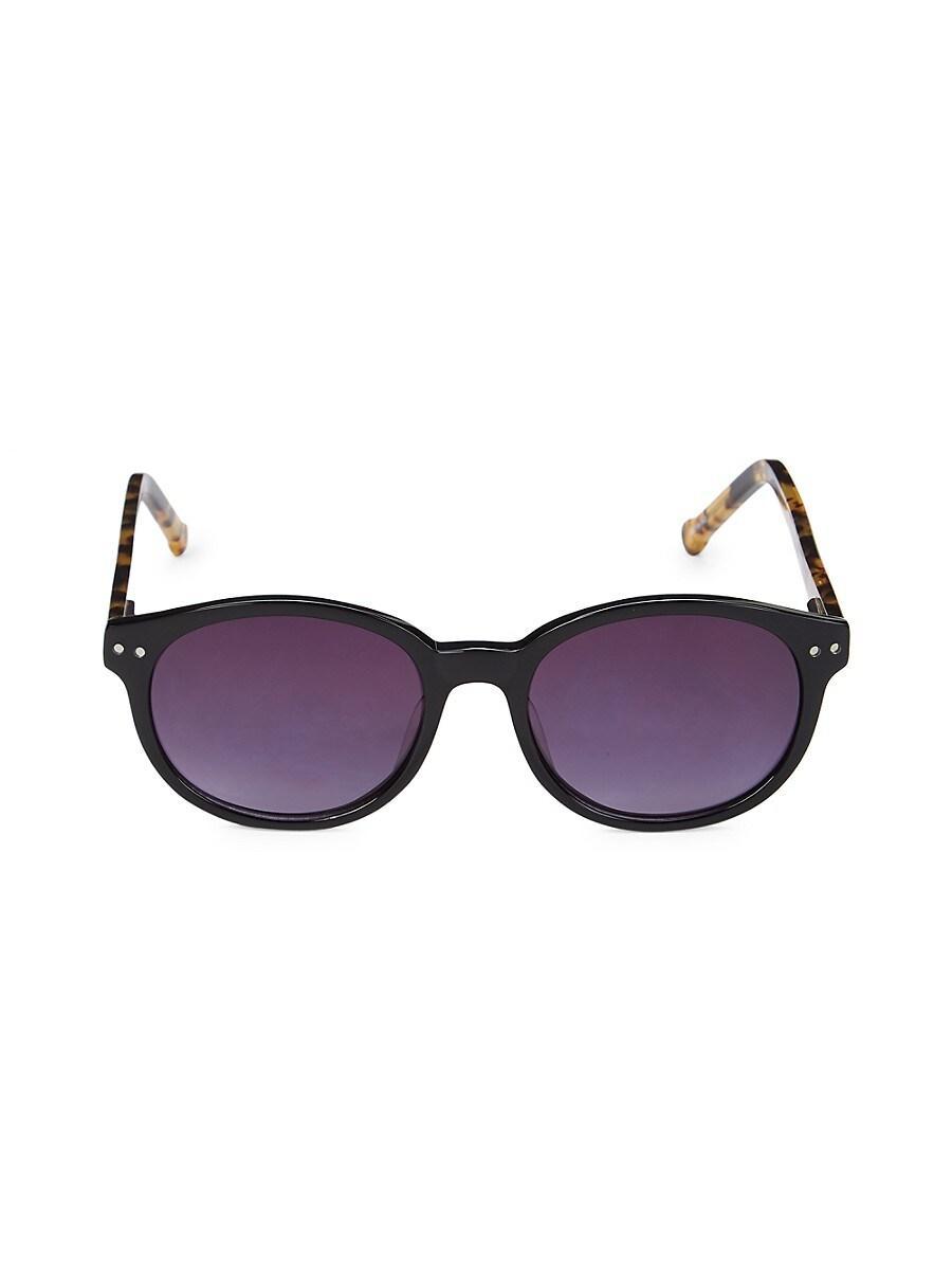 Colors in Optics Women's 49MM Oval Sunglasses - Tortoise
