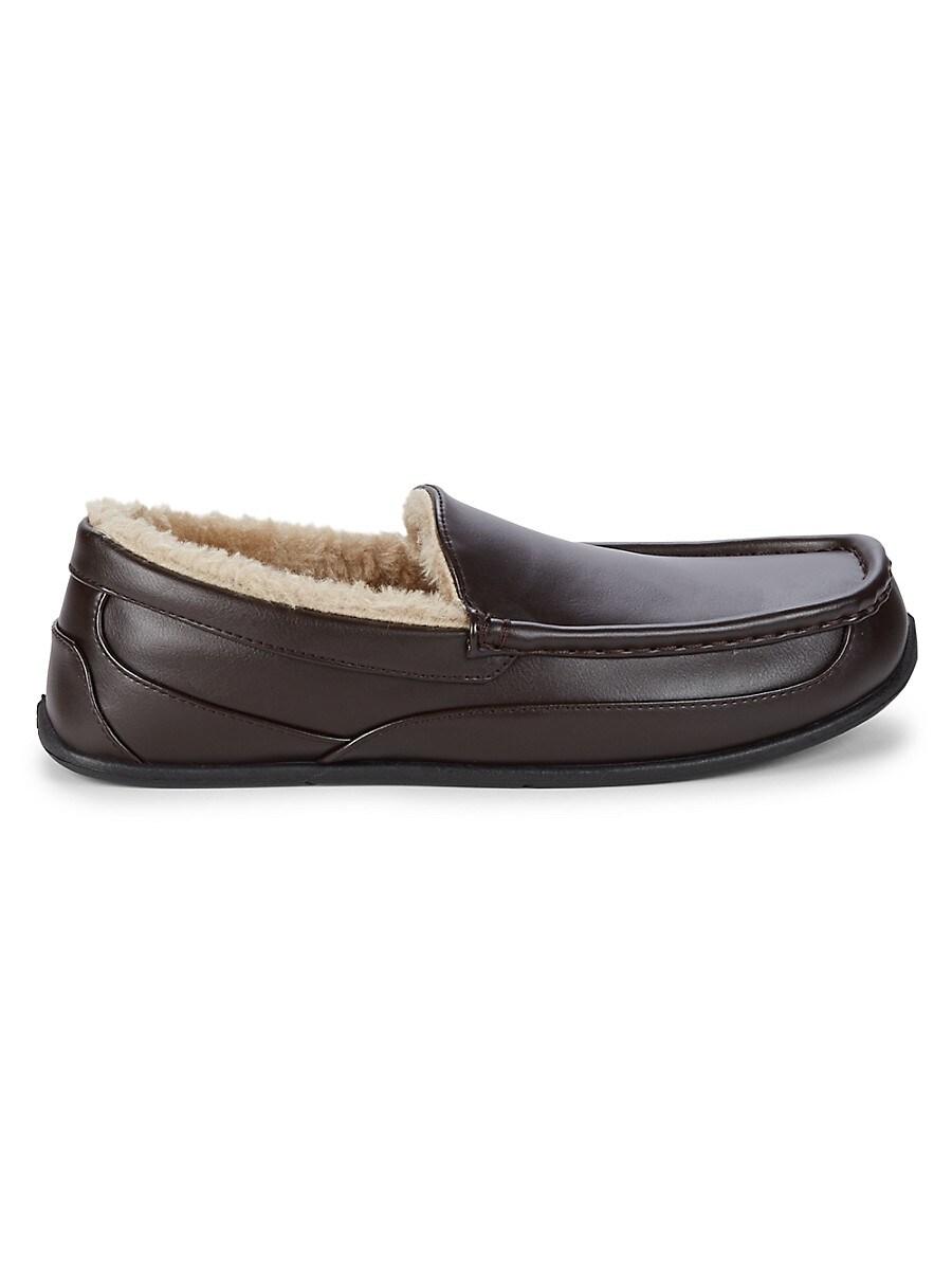 Spun Vega Faux Fur-Lined Slippers