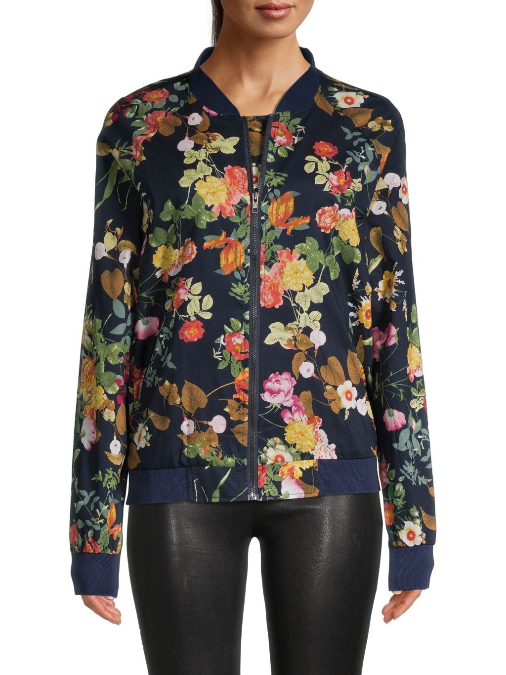 Lucca Floral Bomber