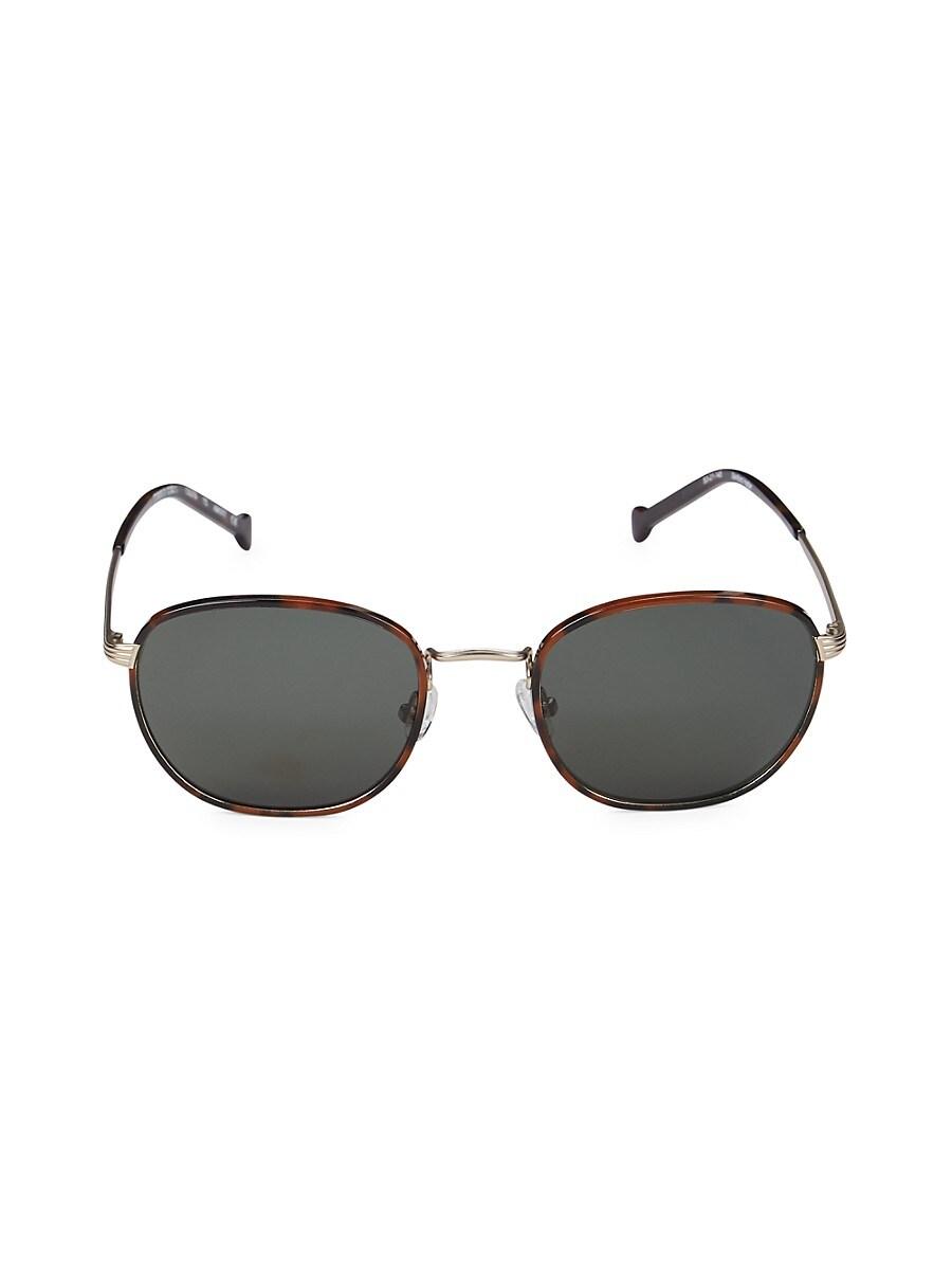 Colors in Optics Women's 53MM Round Sunglasses - Black