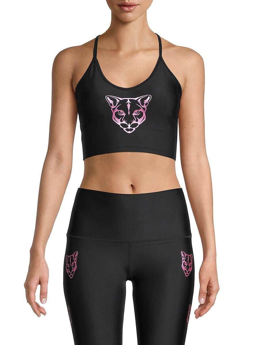 Women's Panther Sports Bra