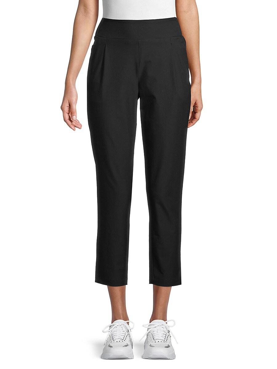 Women's High-Waist Cropped Pants