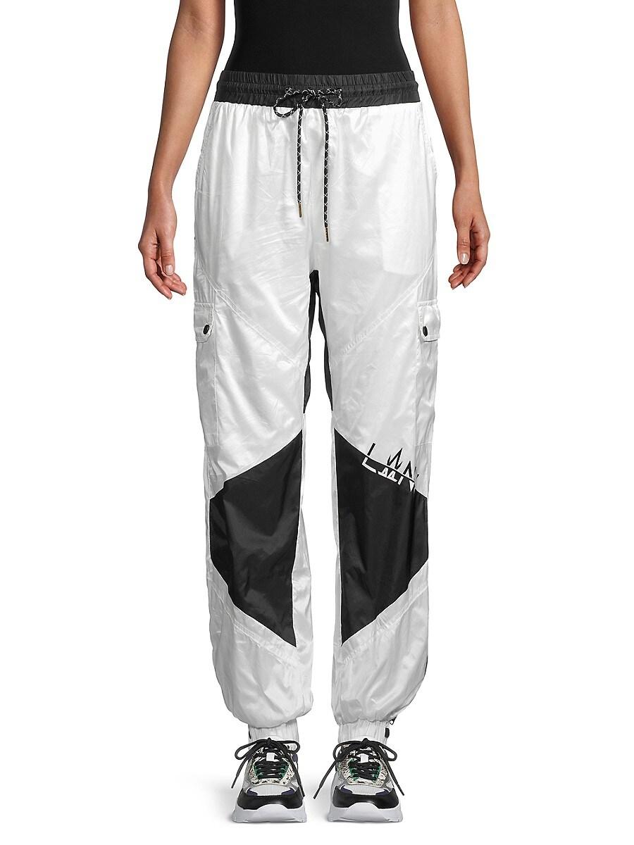 Women's High-Waist Drawstring Pants