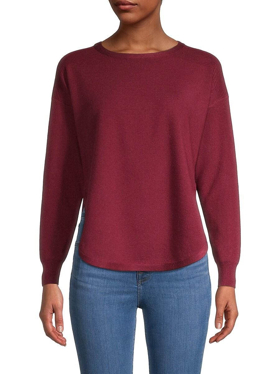 Women's Split-Hem Sweater