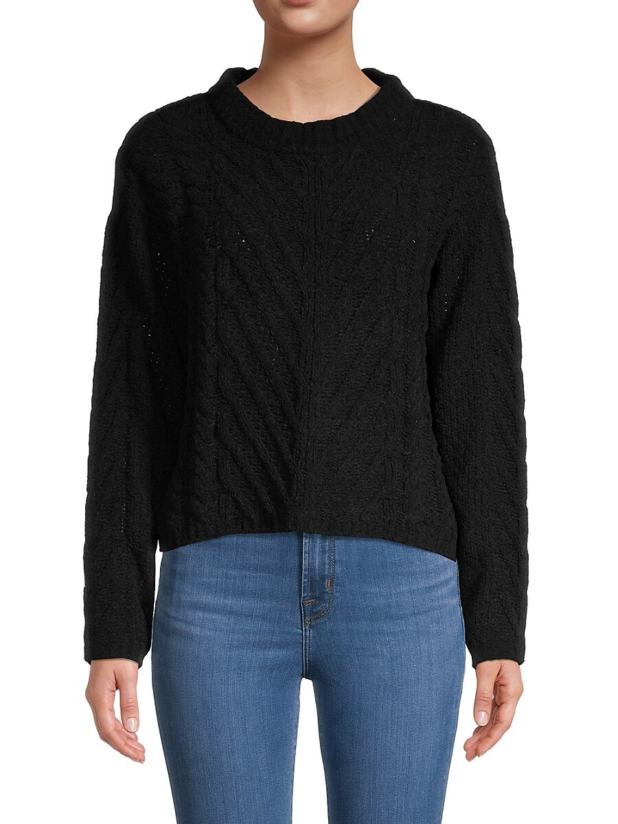 Women's Cable-Knit Sweater