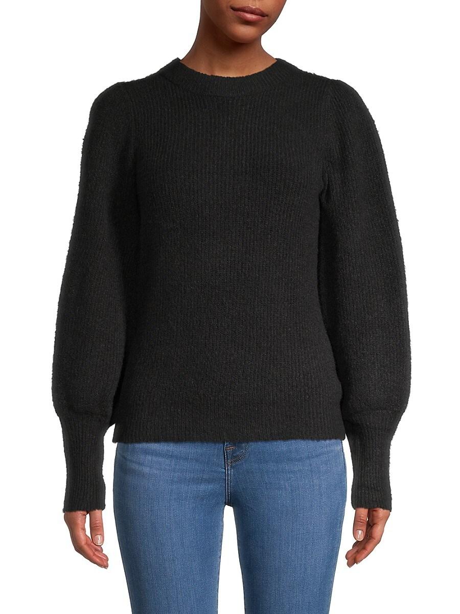 Women's Balloon-Sleeve Sweater