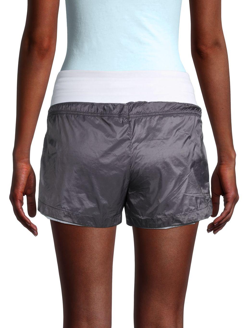 Blanc Noir Drawstrings Shorts