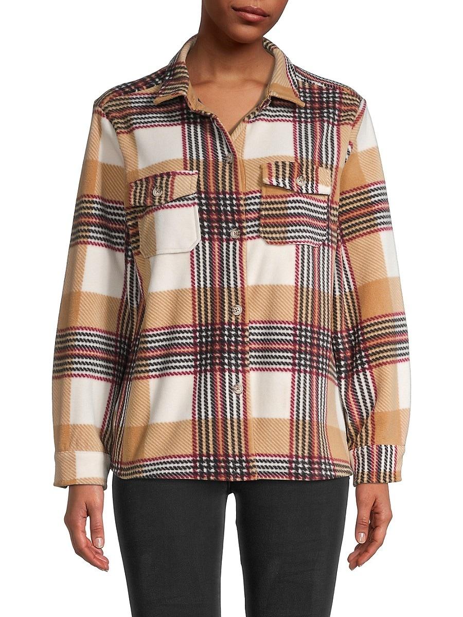 Women's Plaid Long-Sleeve Shirt
